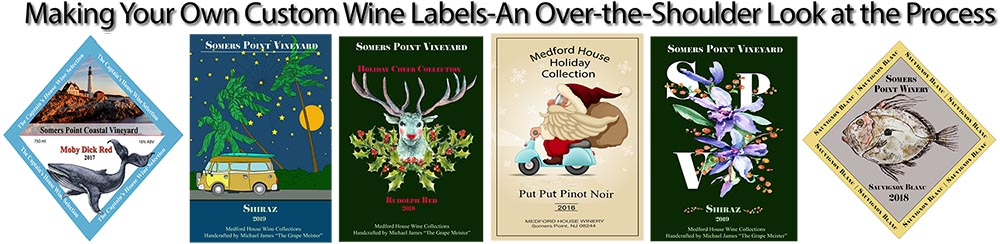 DIY Custom Wine Labels - The Total Wine System